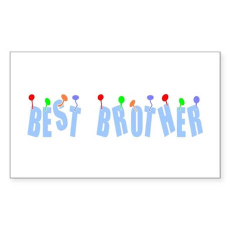 Best Brother Rectangle Sticker