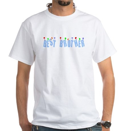 Best Brother White T-Shirt