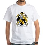 Slany Family Crest White T-Shirt