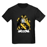 Slany Family Crest Kids Dark T-Shirt