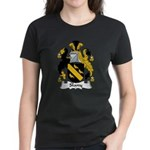 Slany Family Crest Women's Dark T-Shirt
