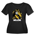 Slany Family Crest Women's Plus Size Scoop Neck Da