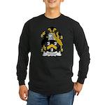 Skinner Family Crest Long Sleeve Dark T-Shirt