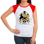 Skinner Family Crest Women's Cap Sleeve T-Shirt