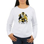 Simpson Family Crest Women's Long Sleeve T-Shirt