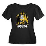 Simpson Family Crest Women's Plus Size Scoop Neck