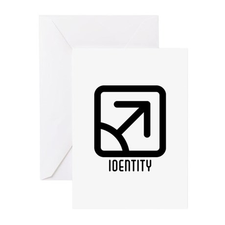 Identity : Male Greeting Cards (Pk of 20)
