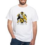 Shield Family Crest White T-Shirt