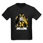 Shield Family Crest Kids Dark T-Shirt