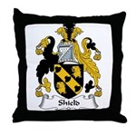 Shield Family Crest Throw Pillow