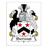 Sherwood Family Crest Small Poster