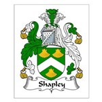 Shapley Family Crest Small Poster