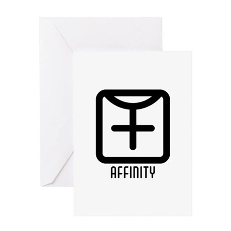 Affinity : Female Greeting Card