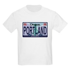Oregon Plate - PORTLAND T-Shirt