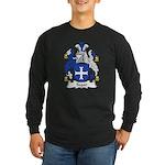 Segar Family Crest Long Sleeve Dark T-Shirt