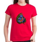 Baby Krishna Tee (Red, Caribbean Blue or Violet)