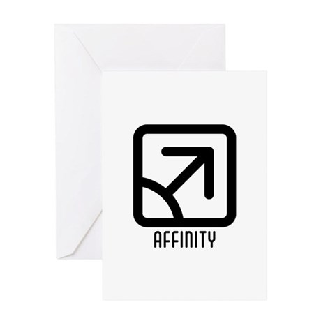 Affinity : Male Greeting Card