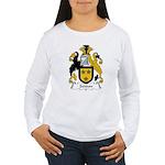 Seddon Family Crest  Women's Long Sleeve T-Shirt