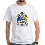 Seaman Family Crest White T-Shirt
