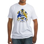 Seaman Family Crest Fitted T-Shirt