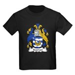 Seaman Family Crest Kids Dark T-Shirt