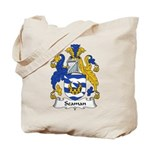 Seaman Family Crest Tote Bag