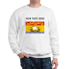 Custom New Brunswick Flag Sweatshirt