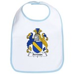 Scroope Family Crest Bib
