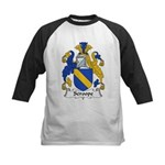 Scroope Family Crest Kids Baseball Jersey