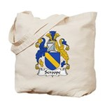 Scroope Family Crest Tote Bag