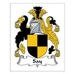 Say Family Crest Small Poster