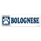 BOLOGNESE Bumper Bumper Sticker