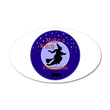 Make a Witch Foundation Wall Decal
