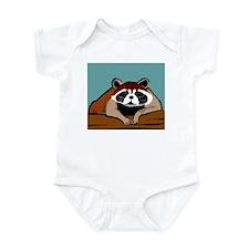 Fat Raccoon Infant Bodysuit