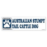 AUSTRALIAN STUMPY TAIL CATTLE DOG Bumper Bumper Sticker