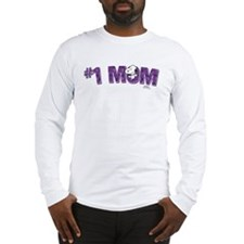 Snoopy - Mom is #1 Long Sleeve T-Shirt