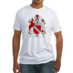 Rye Family Crest Fitted T-Shirt