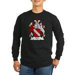 Rye Family Crest Long Sleeve Dark T-Shirt