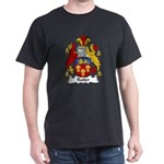 Rutter Family Crest Dark T-Shirt