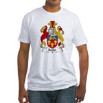 Rutter Family Crest Fitted T-Shirt
