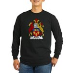 Rutter Family Crest Long Sleeve Dark T-Shirt