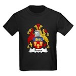 Rutter Family Crest Kids Dark T-Shirt
