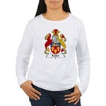 Rutter Family Crest Women's Long Sleeve T-Shirt