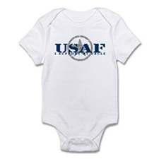 I Support My Uncle - Air Force Infant Bodysuit