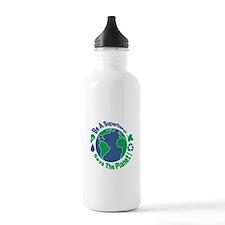 Earth Day Hero Water Bottle