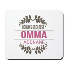 Personalized World's Greatest Omma Mousepad