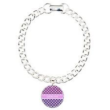 Personalized Purple Viol Bracelet