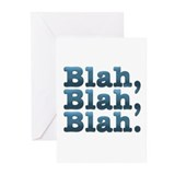 Blah Greeting Cards (Pk of 10)