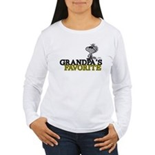 Grandpa's Favorite Women's Long Sleeve T-Shirt