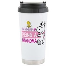 Happiness is being a Gr Stainless Steel Travel Mug